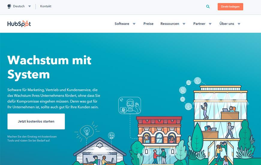 Inbound-Marketing Software Hubspot